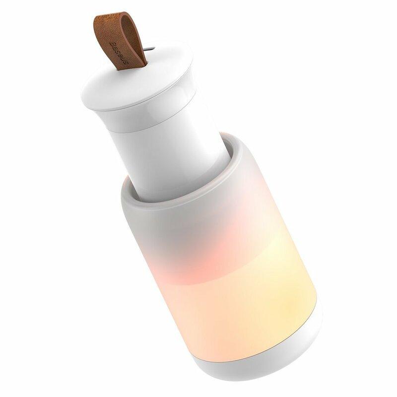 Lampa Auto Wireless Baseus, Cablu De Incarcare Type-C - CRYJD01-A02 - Alb