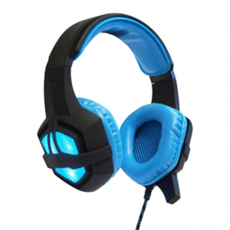 Casti On-Ear Gaming Cu Telecomanda Pe Cablu USB, Jack Si Microfon ART Flash - Negru