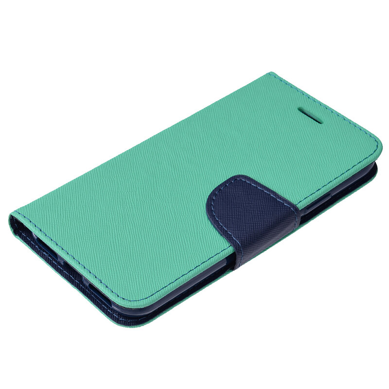 Husa iPhone XS Flip MyFancy - Mint