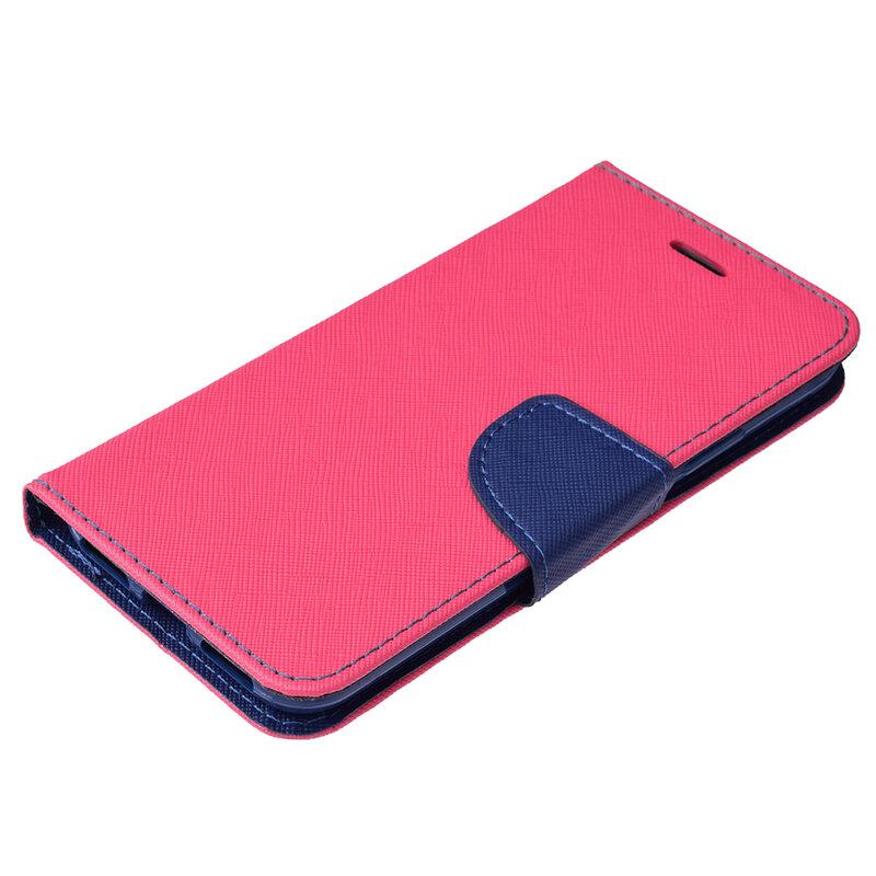 Husa iPhone XS Flip MyFancy - Roz