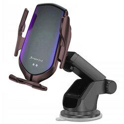 Suport Auto Incarcare Wireless Tech-Protect R2 Pentru Parbriz, Grila De Ventilatie - Negru