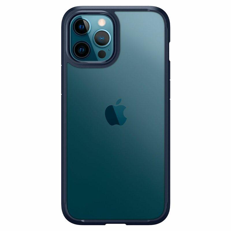 Husa iPhone 12 Pro Spigen Ultra Hybrid Navy Blue