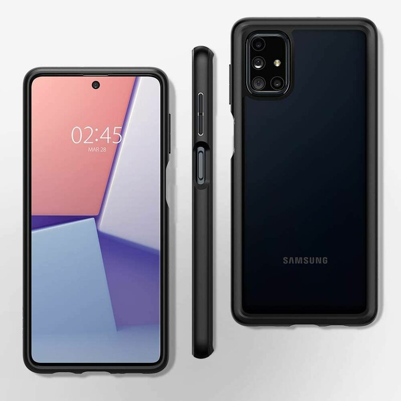 Husa Samsung Galaxy M51 Spigen Ultra Hybrid - Matte Black