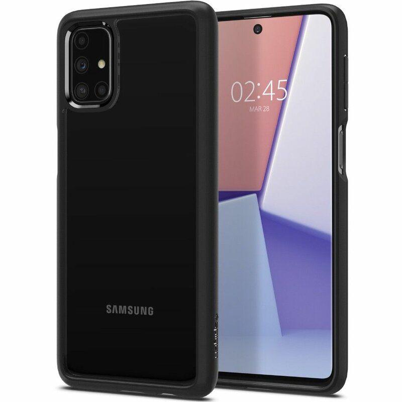 Husa Samsung Galaxy M31s Spigen Ultra Hybrid - Matte Black
