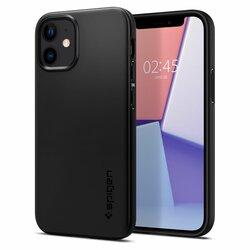 Husa iPhone 12 mini Spigen Thin Fit - Black