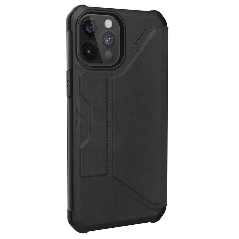 Husa iPhone 12 Pro Max UAG Metropolis Series - Negru