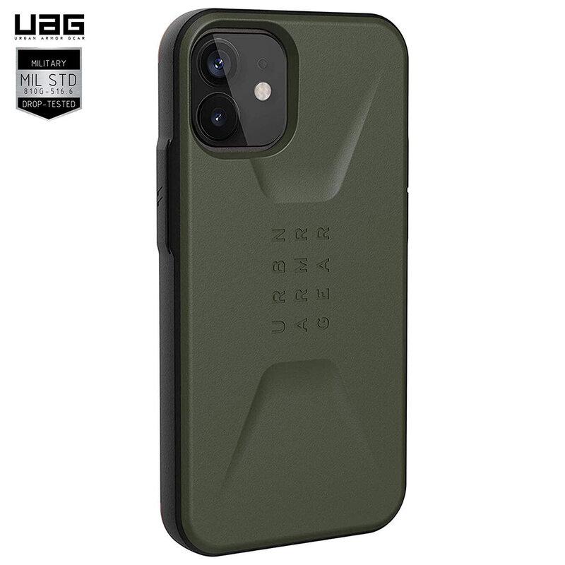 Husa iPhone 12 UAG Civilian Series -  Olive Drab