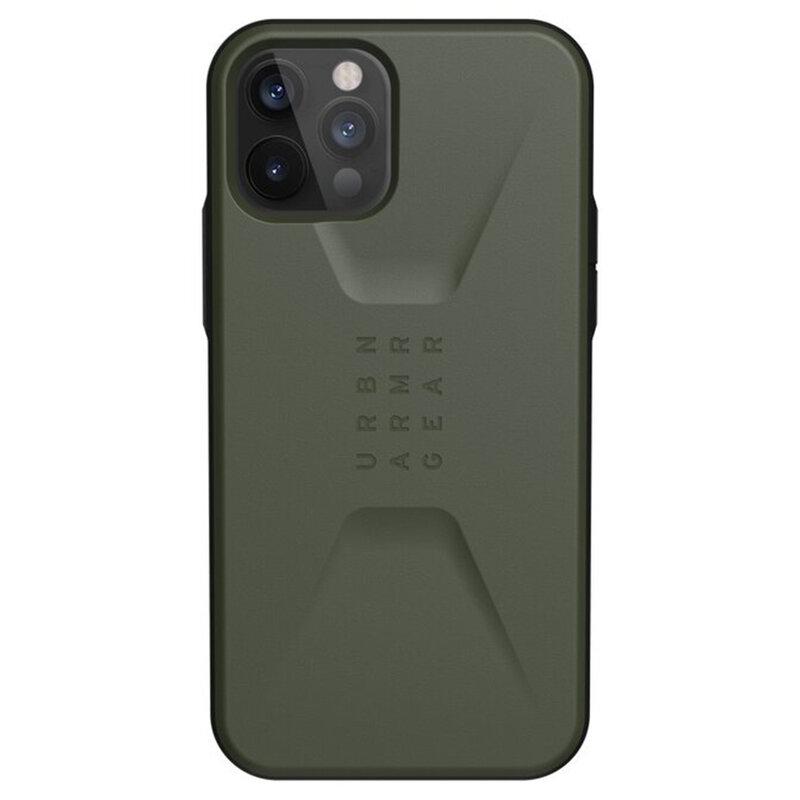 Husa iPhone 12 Pro UAG Civilian Series -  Olive Drab