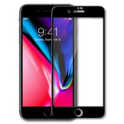 Folie iPhone SE 2, SE 2020 Mobster Ceramics 9D Cu Acoperire Integrala - Negru