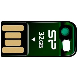Stick USB 2.0 32 GB Silicon Power Touch T02 Magnet - Green