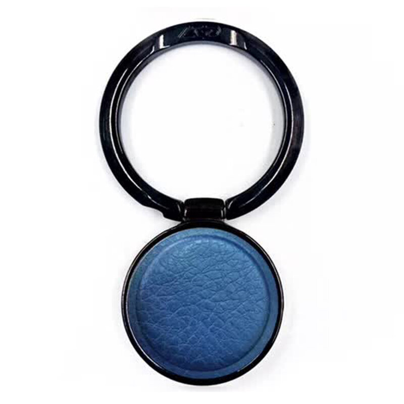 Suport iRing LGD Leather Universal Cu Adeziv 3M Pentru Telefon - Albastru