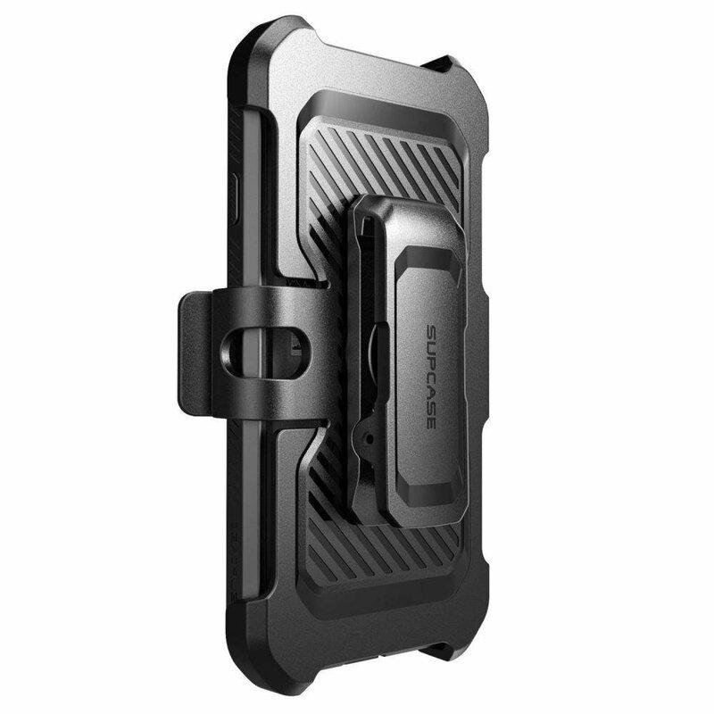 [Pachet 360°] Husa iPhone 8 Supcase Unicorn Beetle Pro + Folie Ecran - Black
