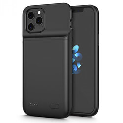 Husa Cu Baterie iPhone 12 Pro Max Tech-Protect Battery Pack 4800mAh - Negru