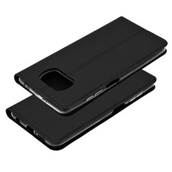Husa Xiaomi Poco X3 NFC Mobster Soft Book - Negru