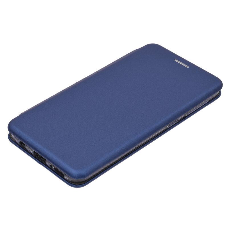 Husa Magnet Book Samsung Galaxy A20e Flip Albastru