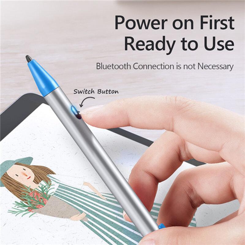 Stylus Pen Mini Dux Ducis Palm Rejection Pentru Tablete iPad - Argintiu