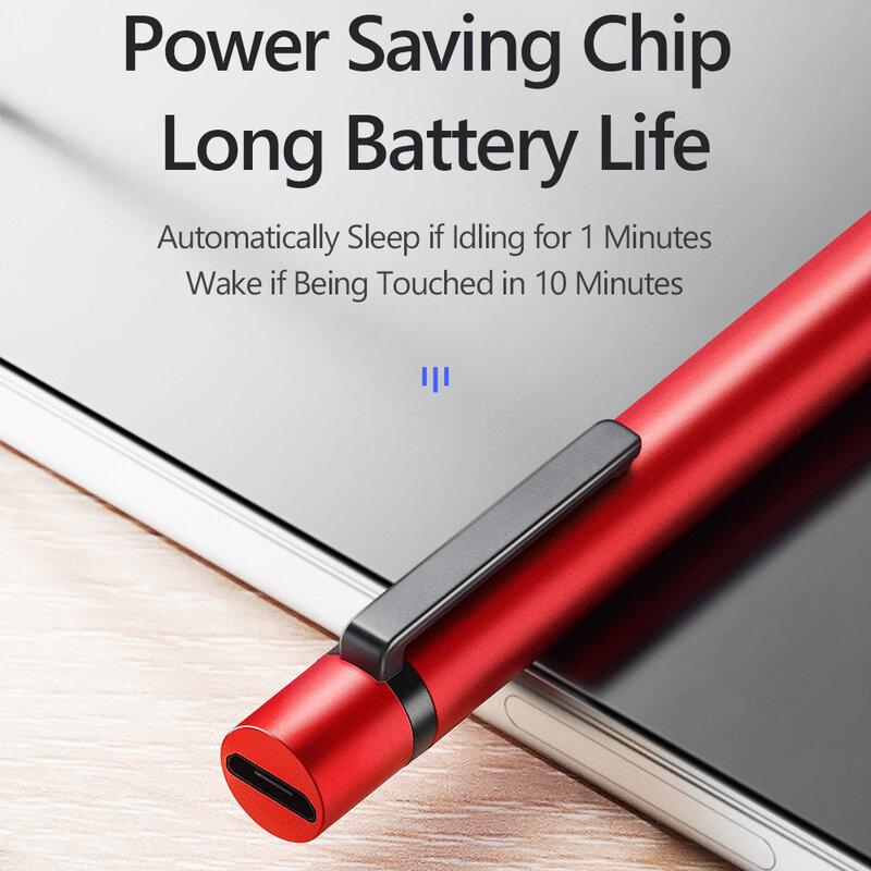 Stylus Pen Mini Dux Ducis Palm Rejection Pentru Tablete iPad - Rosu