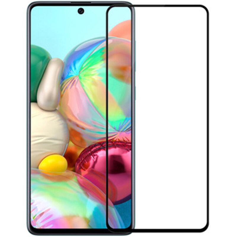 Folie Sticla Samsung Galaxy A51 Mobster 111D Full Glue Full Cover 9H - Negru