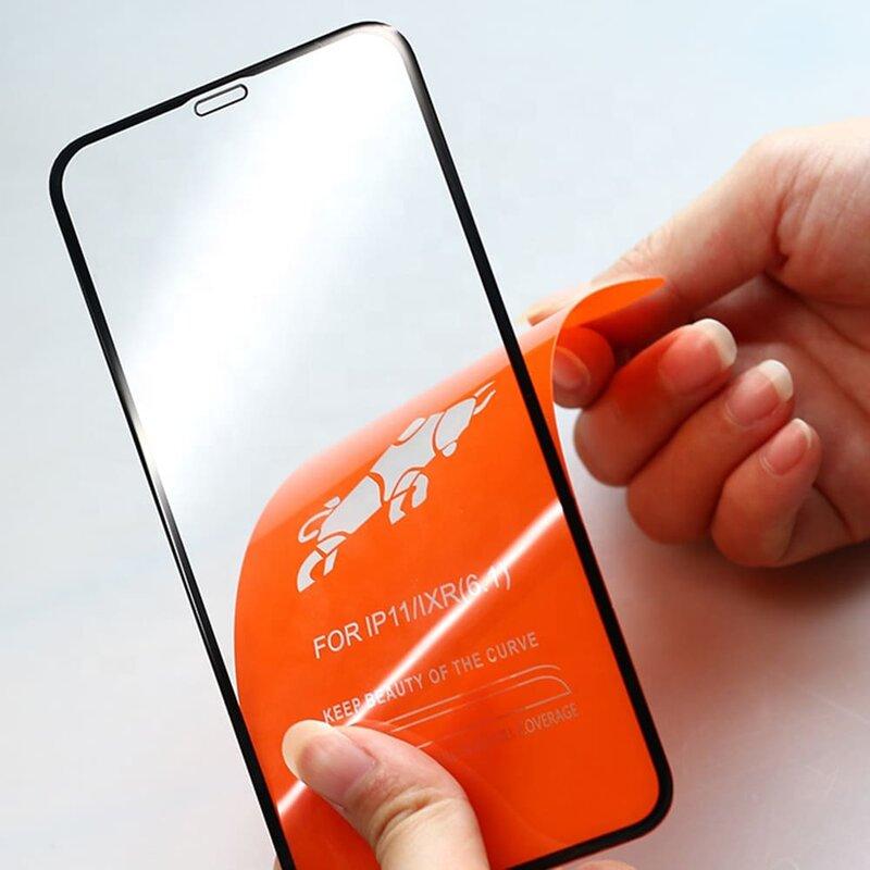 Folie Sticla Xiaomi Mi 9T Mobster 111D Full Glue Full Cover 9H - Negru