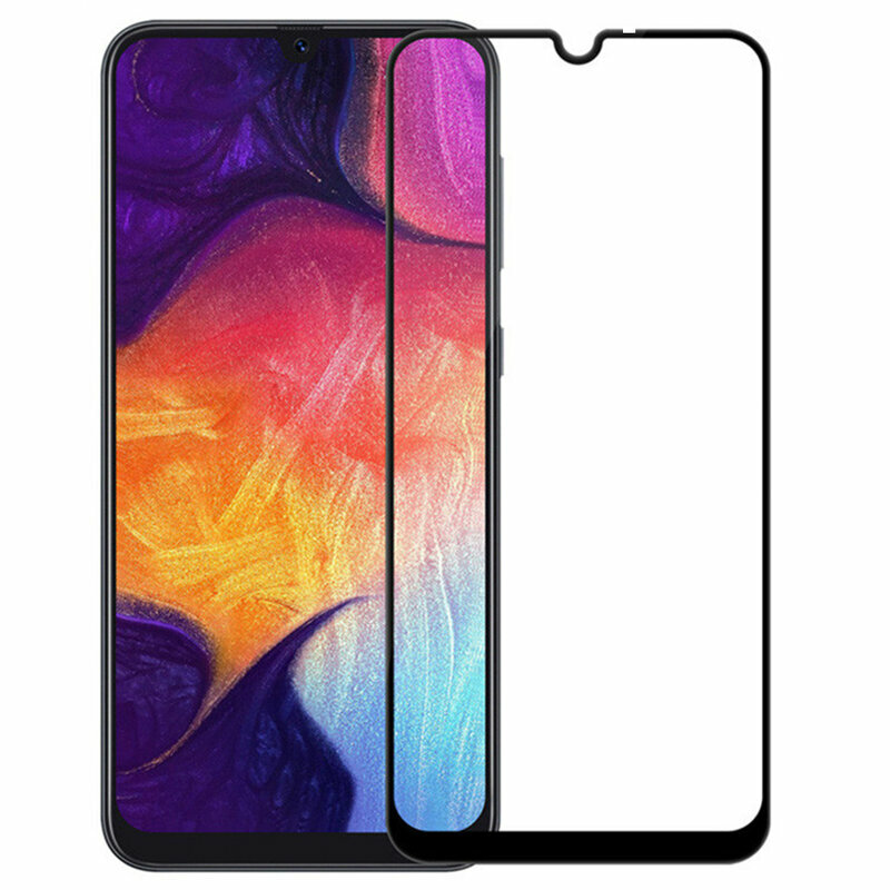 Folie Sticla Xiaomi Mi 10 Lite Mobster 111D Full Glue Full Cover 9H - Negru