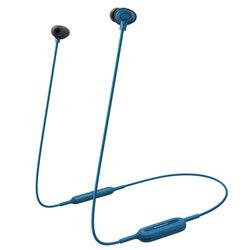 Casti in-ear originale Panasonic, wireless, Bluetooth, albastru, RP-NJ310BE-A