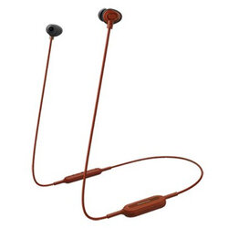 Casti in-ear originale Panasonic, wireless, Bluetooth, rosu, RP-NJ310BE-R