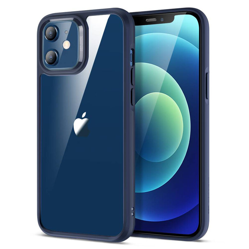 Husa iPhone 12 mini ESR Ice Shield - Albastru