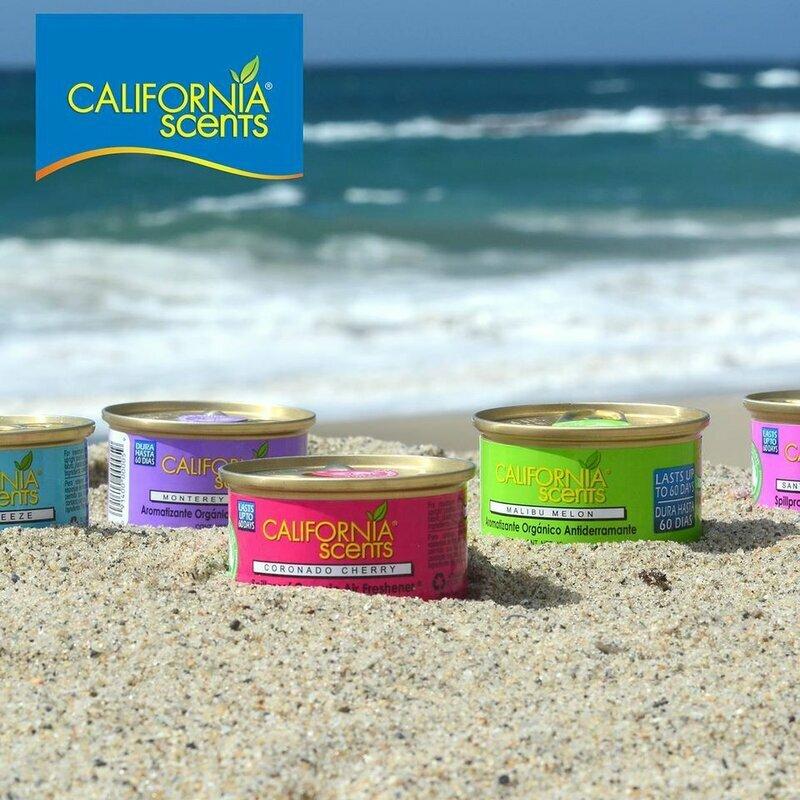 Odorizant auto California Scents, gel parfumat, universal, aroma Shasta Strawberry