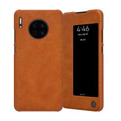 Husa Huawei Mate 30 Nillkin QIN Leather - Maro