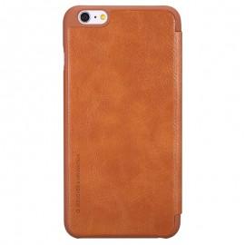 Husa iPhone 6 Plus, 6s Plus Flip Nillkin QIN Maro