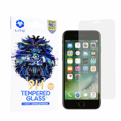 Folie Sticla iPhone 6 / 6S Lito 9H Tempered Glass - Clear