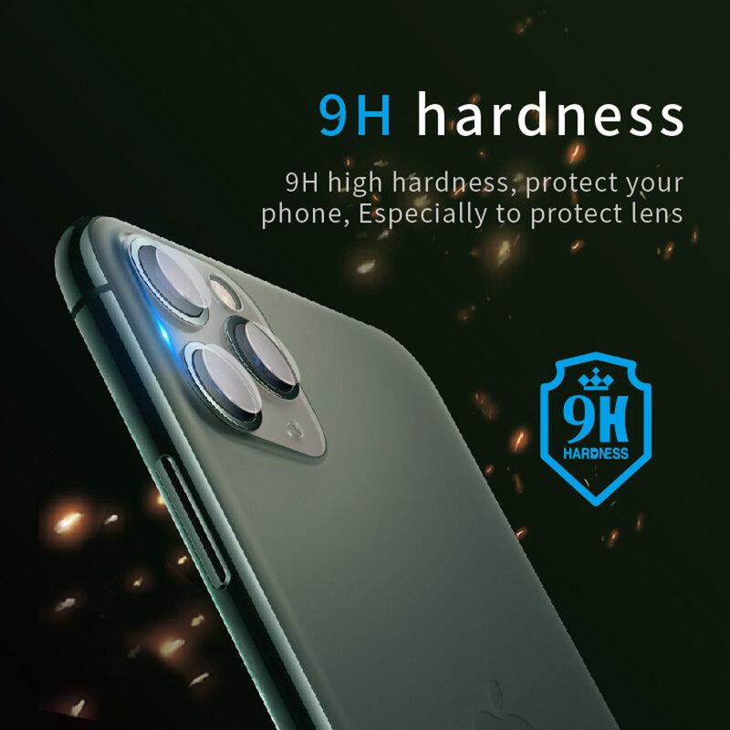 Folie Camera iPhone 11 Pro Bestsuit Lens Film 9H Flexible Glass - Clear