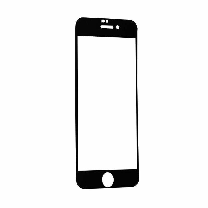 Folie iPhone SE 2, SE 2020 Hofi Glass Flex Hybrid PRO+ Cu Rama - Negru