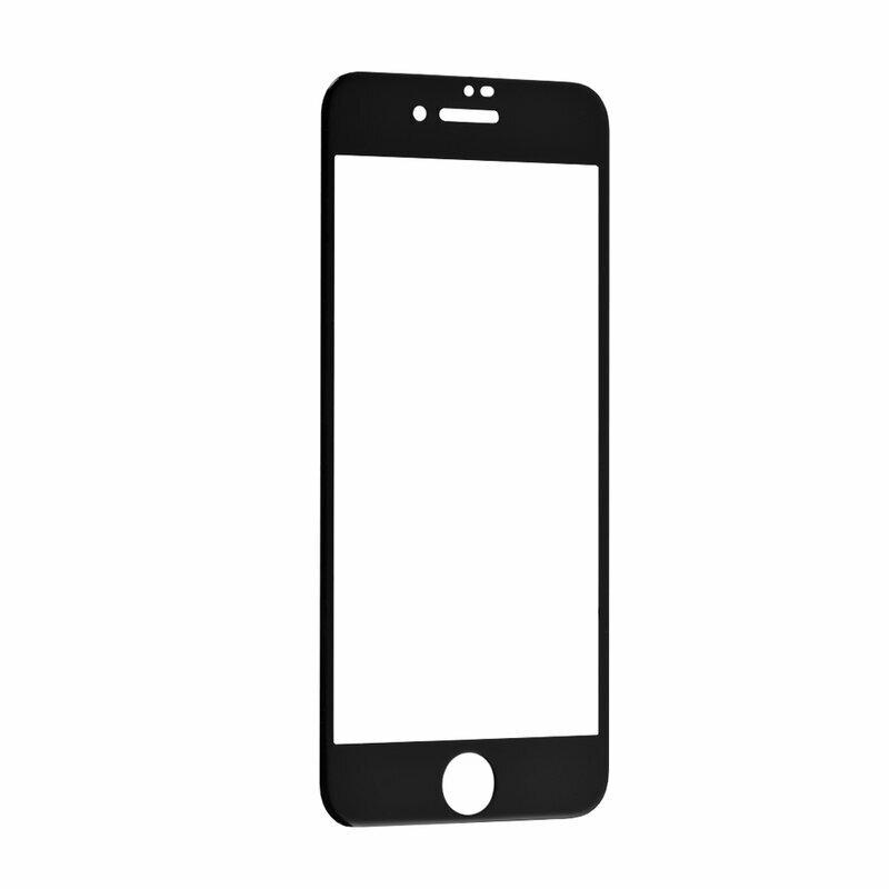 Folie Sticla iPhone SE 2, SE 2020 Mocolo 3D Full Cover - Black