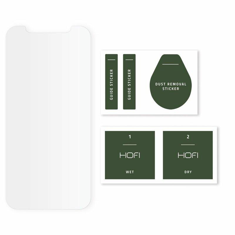Folie iPhone 12 Pro Hofi Hybrid Pro+ flexibila - Clear