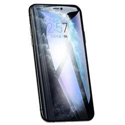 Folie Sticla iPhone 11 USAMS Full Screen Curved Glass - Negru