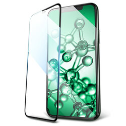 Folie Sticla iPhone XS Max USAMS Full Screen Curved Glass - Negru