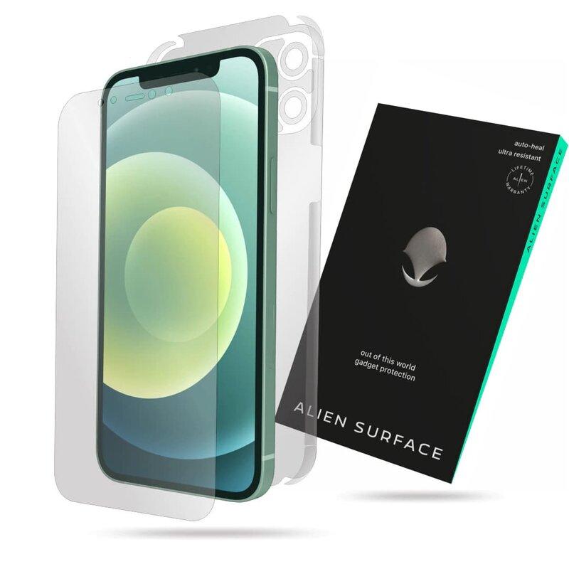 Folie 360° iPhone 12 mini Alien Surface ecran, spate, laterale, camera - Clear