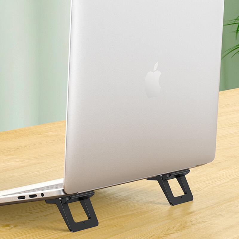 Suport laptop birou USAMS, stand portabil tableta, universal, negru, US-ZJ054