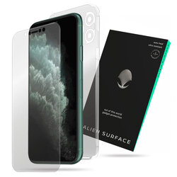 Folie 360° iPhone 11 Pro Alien Surface ecran, spate, laterale, camera - Clear