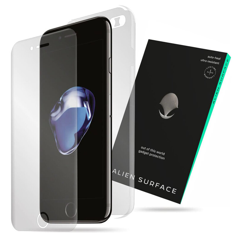 Folie 360° iPhone 7 Alien Surface ecran, spate, laterale, camera - Clear