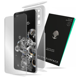 Folie 360° Samsung Galaxy S20 Ultra 5G Alien Surface ecran, spate, laterale, camera - Clear