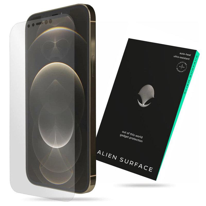 Folie Regenerabila iPhone 12 Pro Max Alien Surface Case Friendly - Clear