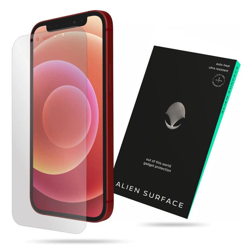 Folie Regenerabila iPhone 12 mini Alien Surface Case Friendly - Clear
