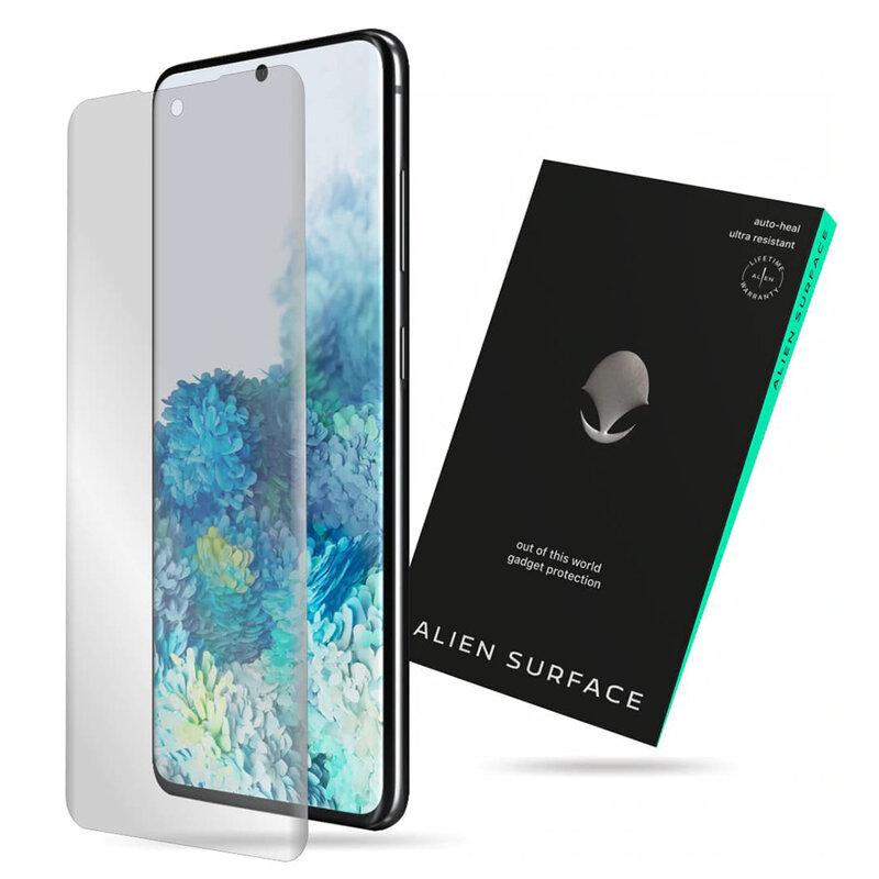 Folie Regenerabila Samsung Galaxy S20 5G Alien Surface Case Friendly - Clear
