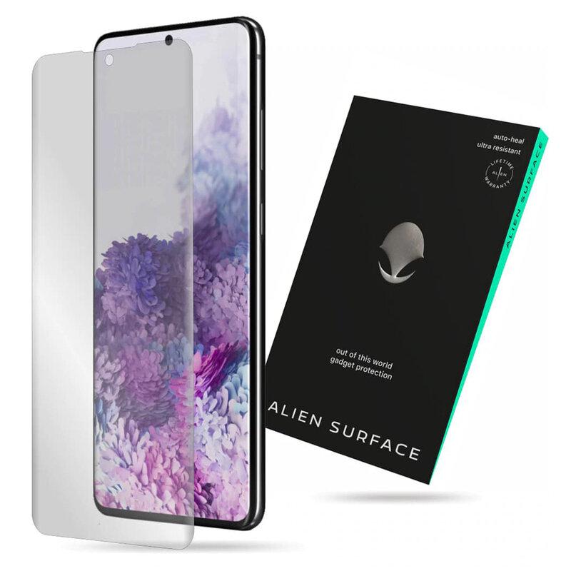 Folie Regenerabila Samsung Galaxy S20 Plus 5G Alien Surface Case Friendly - Clear