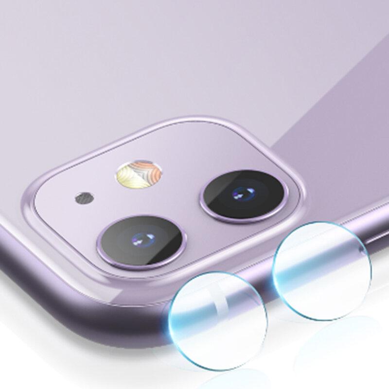 Folie Sticla Camera iPhone 12 mini Mocolo Back Lens 9H - Clear
