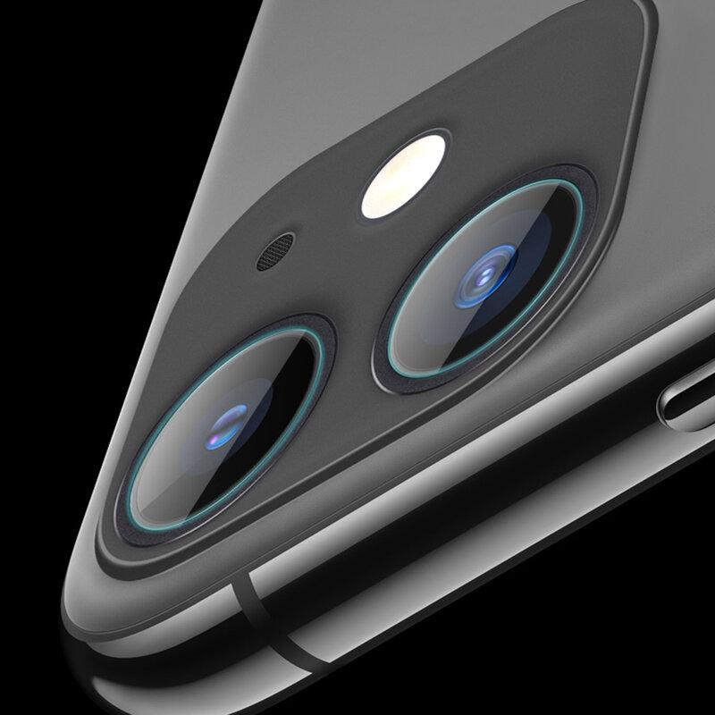 Folie Sticla Camera iPhone 12 Mocolo Back Lens 9H - Clear