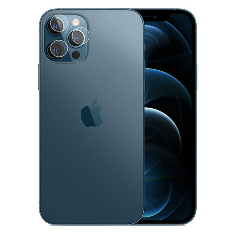 Folie Sticla Camera iPhone 12 Pro Mocolo Back Lens 9H - Clear