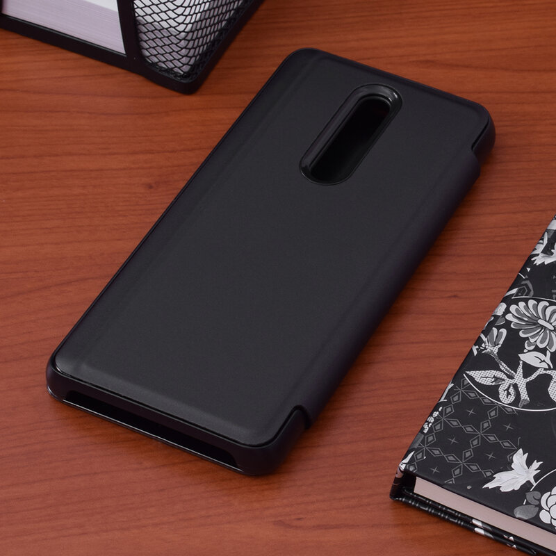 Husa Xiaomi Mi 9T Pro Flip Standing Cover - Black